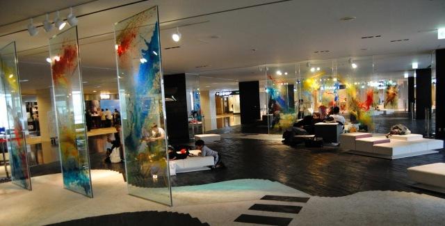 Galeria de arte  Aeropuerto de Tokio