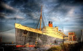 Queen Mary, hay un espectro en Long Beach